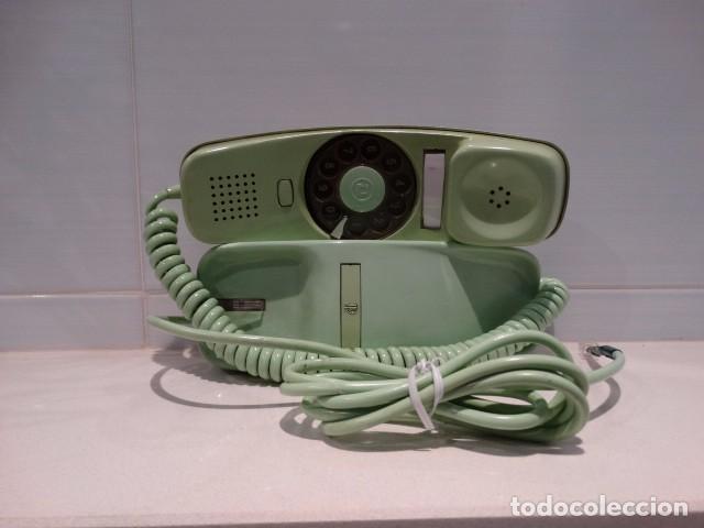 Teléfonos: Teléfono góndola verde de rueda - Foto 3 - 99229383