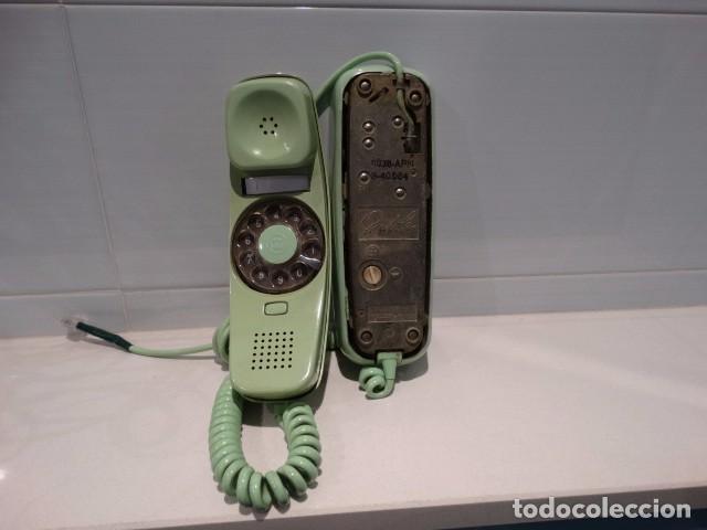 Teléfonos: Teléfono góndola verde de rueda - Foto 4 - 99229383
