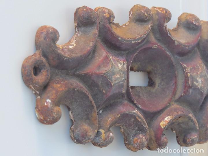 Antigüedades: ANTIGUA GRAN BOCALLAVE ARTISTICA HIERRO - Foto 4 - 99351555