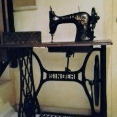 Antigüedades: MAQUINA DE COSER SINGER AÑO 1900-1910. Lote 99389815