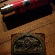 Antigüedades: TROQUEL O SELLO DE IMPRENTA KONIG-PILSENER.. Lote 99396572
