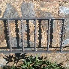 Antigüedades: BONITA REJA PARA BALCÓN ANTEPECHOS. REJA DE HIERRO CREO QUE FORJADO. PRINCIPIOS DEL XXI. Lote 99455503