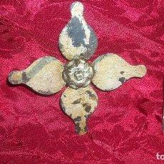 Antigüedades: DOS PIEZAS EN FORJA ANTIGUOS. Lote 99538795