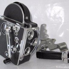 Antigüedades: CINE A CUERDA REFLEX 16 MM.SUIZA 1949.PAILLARD BOLEX H16 STANDARD.MUY BUEN ESTADO.FUNCIONA.SIN LENTE. Lote 99542287