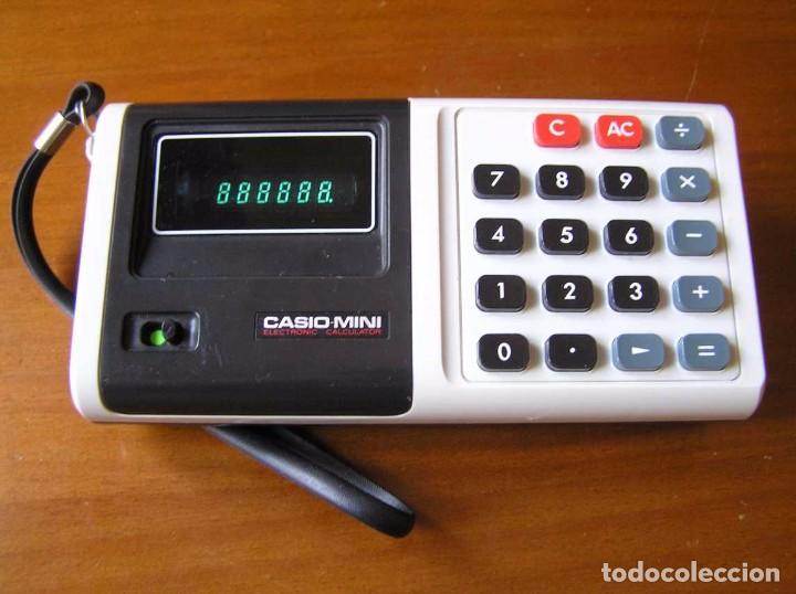 ANTIGUA CALCULADORA CASIO MINI CASIO-MINI CM-604 CM604 AÑOS 70 MADE IN JAPAN ELECTRONIC CALCULATOR (Antigüedades - Técnicas - Aparatos de Cálculo - Calculadoras Antiguas)
