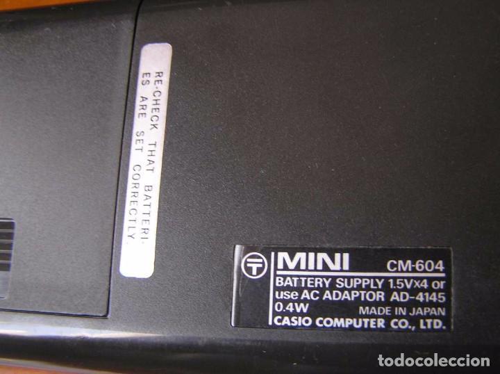 Antigüedades: ANTIGUA CALCULADORA CASIO MINI CASIO-MINI CM-604 CM604 AÑOS 70 MADE IN JAPAN ELECTRONIC CALCULATOR - Foto 7 - 99646523