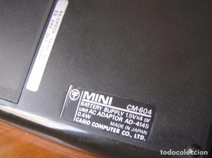 Antigüedades: ANTIGUA CALCULADORA CASIO MINI CASIO-MINI CM-604 CM604 AÑOS 70 MADE IN JAPAN ELECTRONIC CALCULATOR - Foto 20 - 99646523