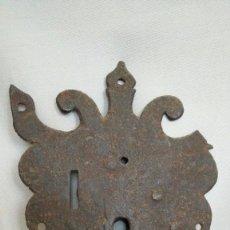 Antigüedades: CERRADURA DE ARCA O BARGUEÑO SIGLO XVII. Lote 99649223