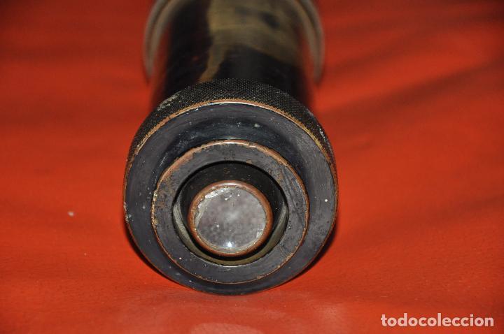Antigüedades: TELESCOPIO INGLÉS - NEGRETTI & ZAMBRA G.S. TELESCOPE X8 1917 N. 68 - Foto 4 - 99655043