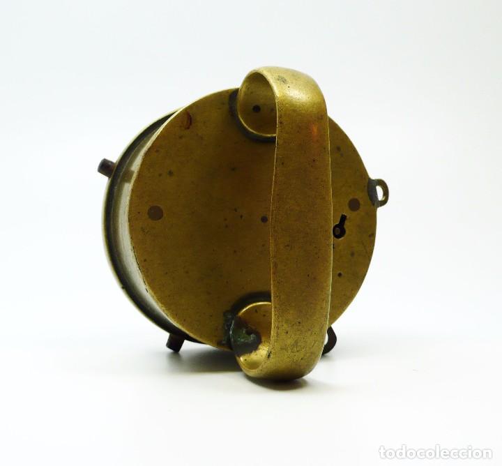 Antigüedades: Chateau Frères & Cie-Collin Wagner- Reloj de ronda de carcelero de prisión- Francia Ca.1860 - Foto 2 - 99728507