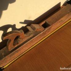 Antigüedades: GARLOPA O CEPILLO GRANDE DE CARPINTERO 58 CENTIMETROS. Lote 99817935