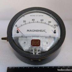 Antigüedades: MANOMETRO - MAGNAELIC - 0 - 100 PULGADAS DE AGUA. Lote 99828563