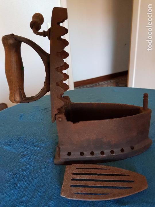 Antigüedades: Plancha de hierro siglo XIX - Foto 4 - 99839267
