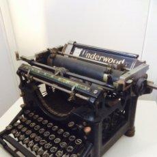 Antigüedades: UNDERWOOD TYPEWRITER. Lote 99847091