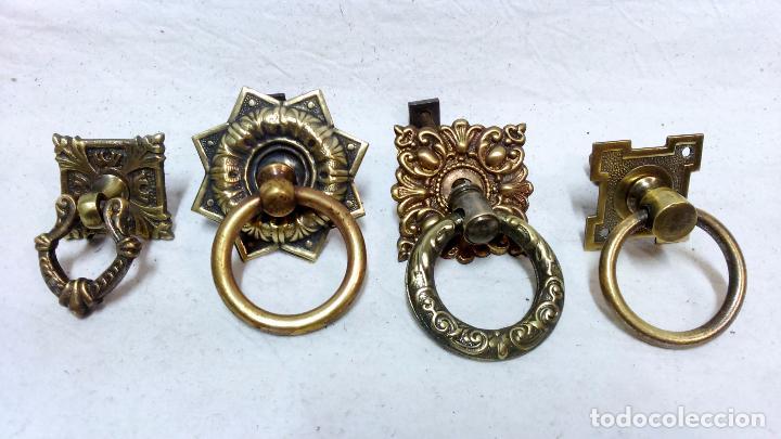 9 tiradores antiguos de cobre y lat n para caj comprar tiradores antiguos en todocoleccion - Tiradores antiguos para muebles ...