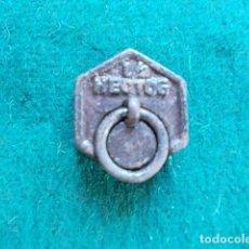 Antigüedades: PESA MEDIO HECTOGRAMO. Lote 99945019