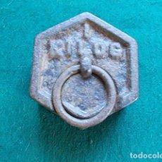 Antigüedades: PESA 1 KILOGRAMO. Lote 99945347