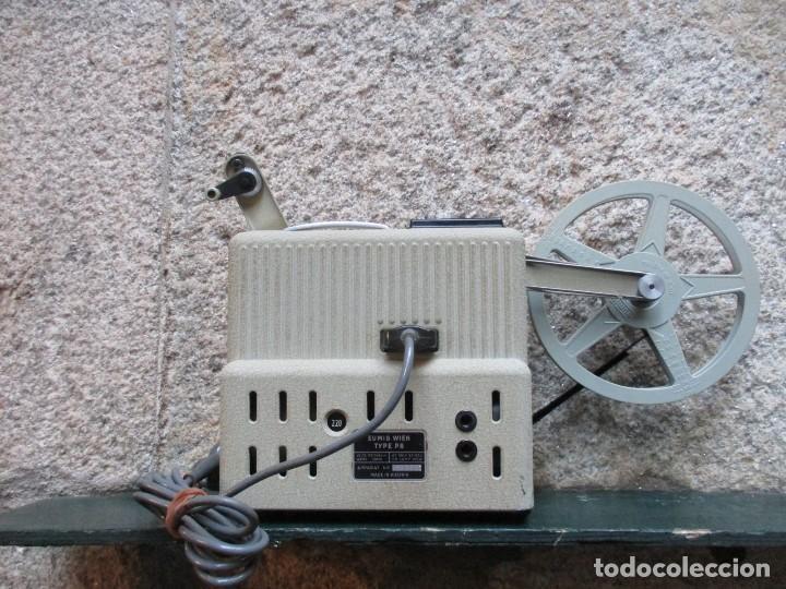 Antigüedades: PROYECTOR MODELO ' EUMIG P8 ' AUSTRIA HACIA 1950/60 - CARECE LAMPARA, PROBADO, INC CAJA + INFO - Foto 3 - 99985931