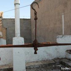 Antigüedades: BALANZA ROMANA GRANDE MUY ANTIGUA. Lote 100006195