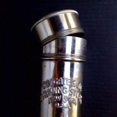 Antigüedades: ANTIGUO CILINDRO METÁLICO PARA JABON DE AFEITAR,MARCA COLGATE&CO ( N.Y-USA) DESCRIPCIÓN. Lote 100009699