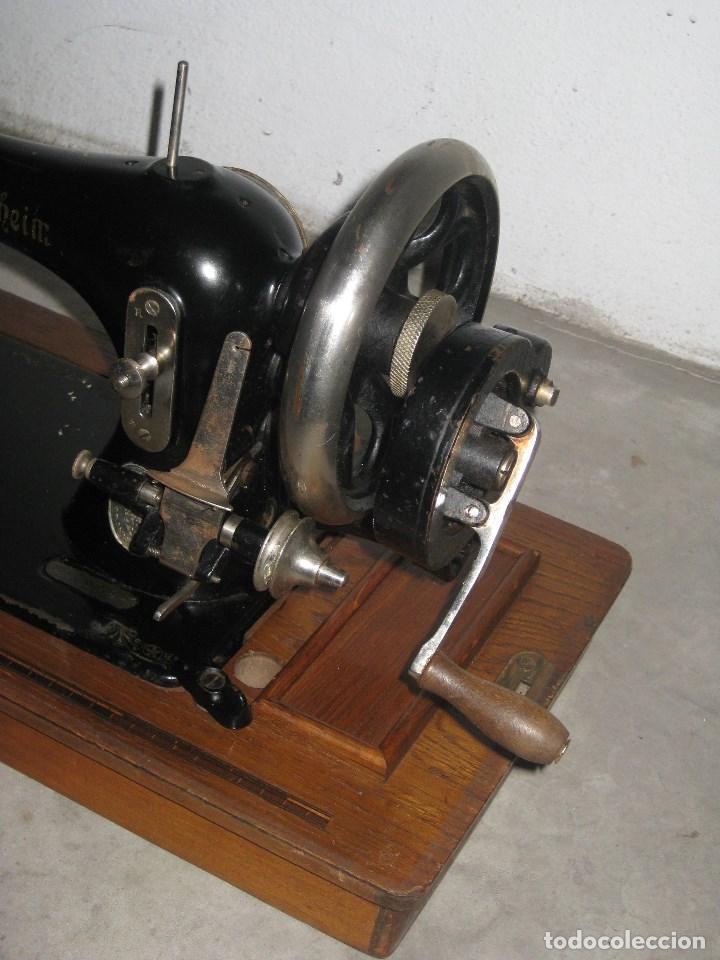 Antigüedades: Antigua maquina de coser Wertheim - Foto 3 - 100035151