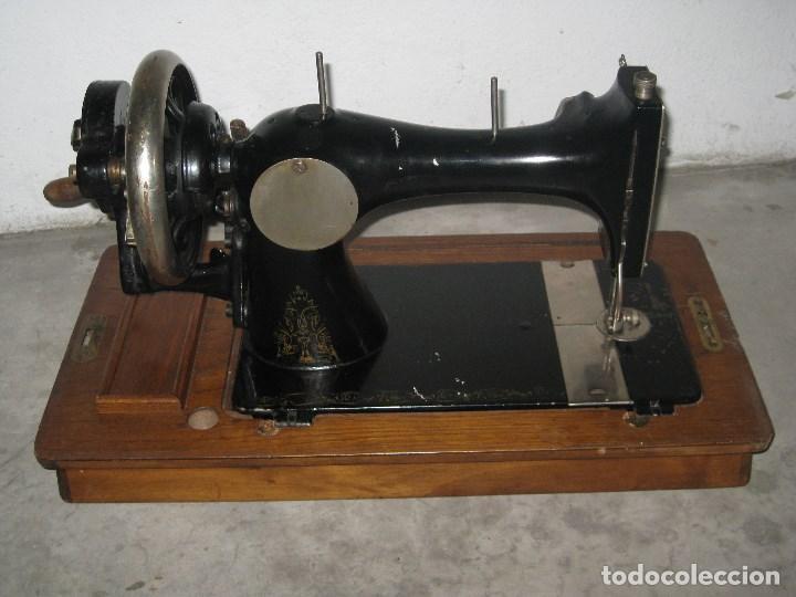 Antigüedades: Antigua maquina de coser Wertheim - Foto 9 - 100035151