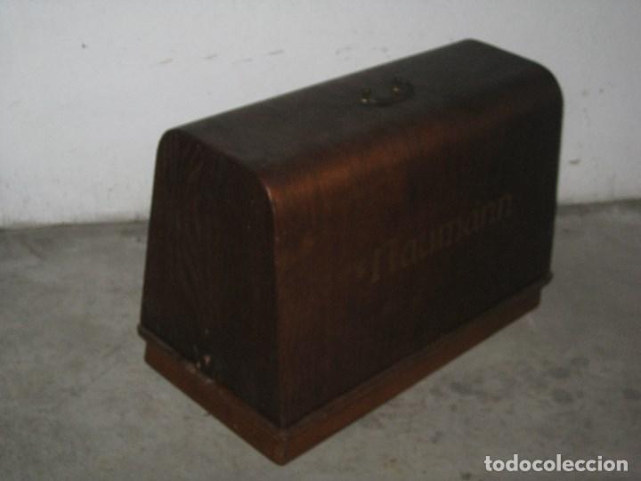Antigüedades: Antigua maquina de coser Wertheim - Foto 14 - 100035151