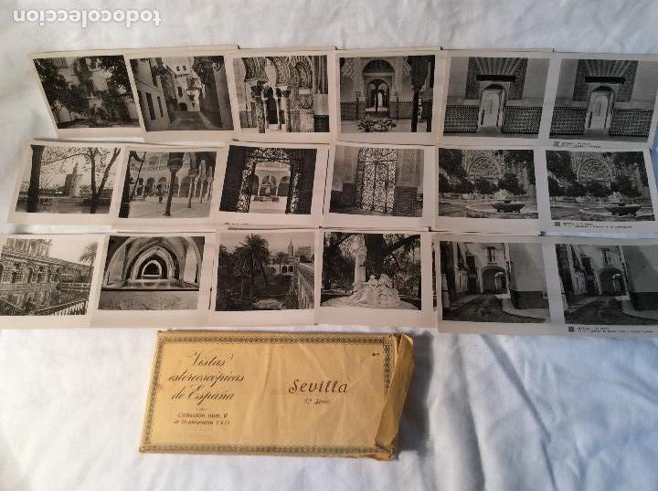 Antigüedades: VISOR ESTEREOSCOPICO CON 8 COLECCIONES DE VISTAS DE ESPAÑA - Foto 5 - 100035699