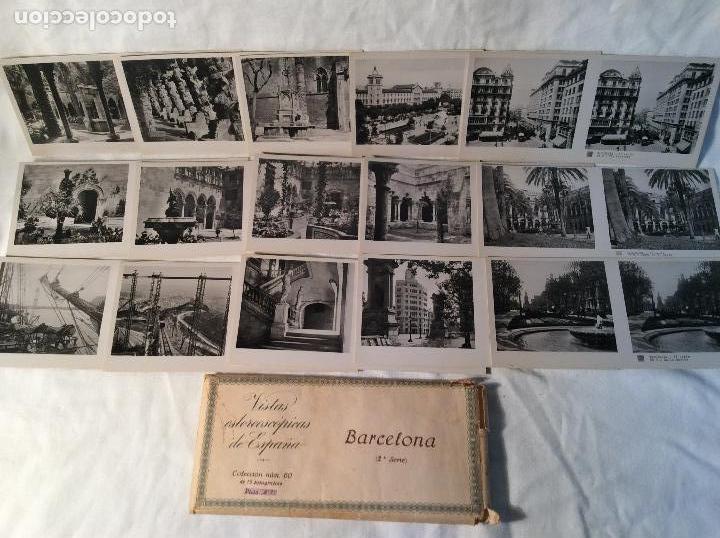 Antigüedades: VISOR ESTEREOSCOPICO CON 8 COLECCIONES DE VISTAS DE ESPAÑA - Foto 6 - 100035699