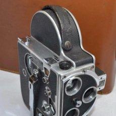 Antigüedades: CINE A CUERDA REFLEX 16 MM.SUIZA 1948.PAILLARD BOLEX H16 STANDARD.BUEN ESTADO.FUNCIONA.SIN LENTE. Lote 100079155