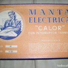 Antigüedades: MANTA ELECTRICA ANTIGUA. Lote 100128031