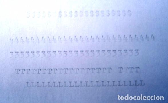 Antigüedades: Máquina de escribir de la marca Olympia, modelo Mónica en su estuche original - Foto 6 - 53848120
