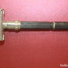 Antigüedades: MAQUINILLA DE AFEITAR GILLETTE, REGULABLE, MADE IN USA. Lote 100241335