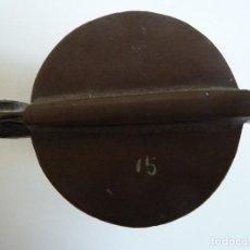 Antigüedades: JUEGO DE PESAS . Lote 100261707