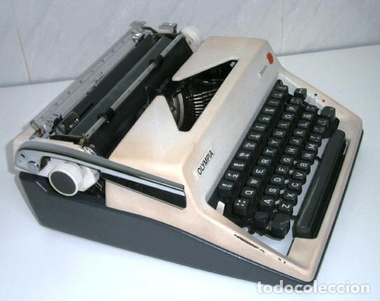 Antigüedades: Máquina de escribir de la marca Olympia, modelo Mónica en su estuche original - Foto 9 - 53848120