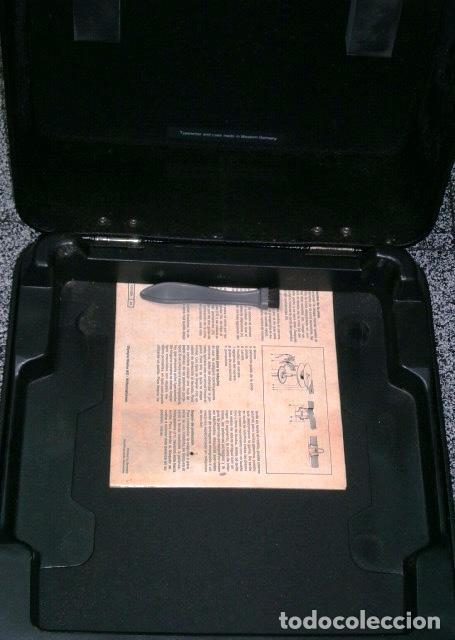 Antigüedades: Máquina de escribir de la marca Olympia, modelo Mónica en su estuche original - Foto 13 - 53848120