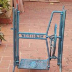 Antigüedades: PATAS DE HIERRO DE MÁQUINA DE COSER. Lote 100319010