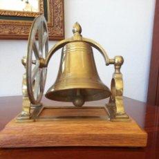 Antiquités: CAMPANA DE BARCO BRONCE. Lote 100324119