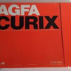 Antigüedades: CAJA DE CARTON PELICULAS RADIOGRAFICAS MARCA AGFA. Lote 100352567