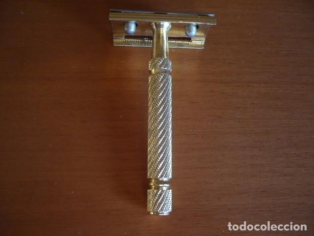 MAQUINILLA DE AFEITAR BETER DORADA DESMONTABLE (Antigüedades - Técnicas - Barbería - Maquinillas Antiguas)