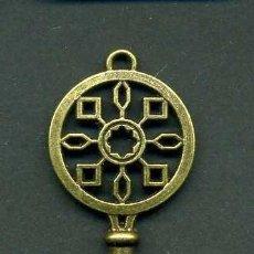 Antigüedades: LLAVE VINTAGE DE BRONCE - MIDE 7 X 2,5 CENTIMETROS Y PESA 5,09 GRAMOS - Nº33. Lote 100439443