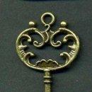 Antigüedades: LLAVE VINTAGE DE BRONCE - MIDE 6,9 X 3,10 CENTIMETROS Y PESA 4,58 GRAMOS - Nº20. Lote 100438315