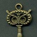 Antigüedades: LLAVE VINTAGE DE BRONCE - MIDE 9 X 3 CENTIMETROS Y PESA 8,35 GRAMOS - Nº38. Lote 100448403