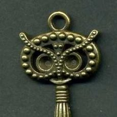 Antigüedades: LLAVE VINTAGE DE BRONCE - MIDE 9 X 3 CENTIMETROS Y PESA 8,36 GRAMOS - Nº39. Lote 100448503