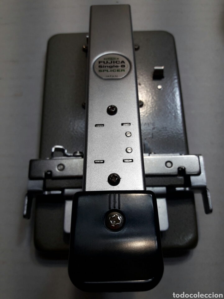 Antigüedades: Empalmadora antigua de películas 8mm en caja original - Foto 2 - 100466931