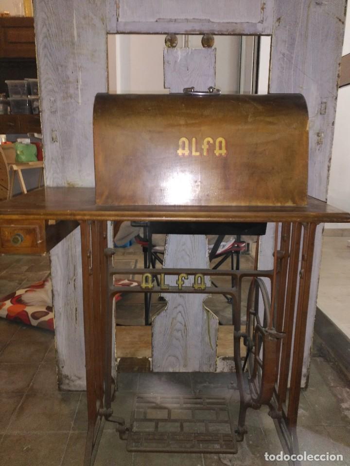 Antigüedades: Máquina de coser - Foto 4 - 100516787