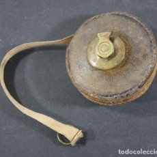 Antigüedades: ANTIGUO METRO DE PIEL 7 CM DIAMETRO. Lote 100517947