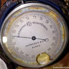 Antigüedades: BAROMETRO ANEROIDE. DUCRETET&CIE-PARIS. SIGLO 19. Lote 100528687