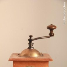 Antigüedades: ANTIGUO MOLINILLO DE CAFE PEUGEOT. MODELO S TALLA 2. 1910-1936. Lote 100537067
