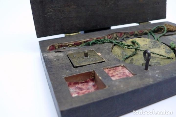 Antigüedades: ANTIGUA BALANZA EN HIERRO forjado SIGLO S.XVIII- XIX - Foto 2 - 46001234